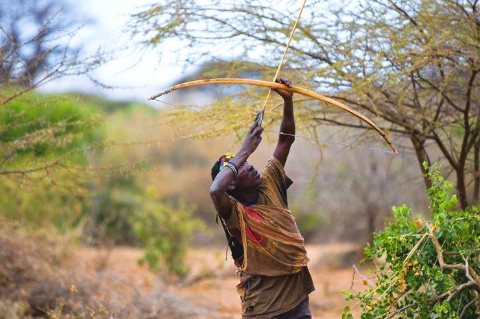 Bosquimanos en Tanzania
