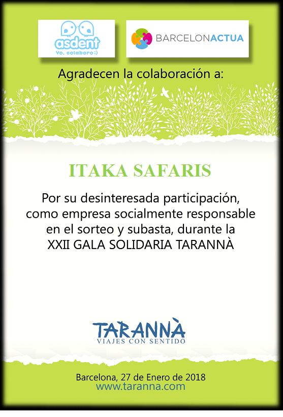 Itaka Safaris_Gala Solidaria