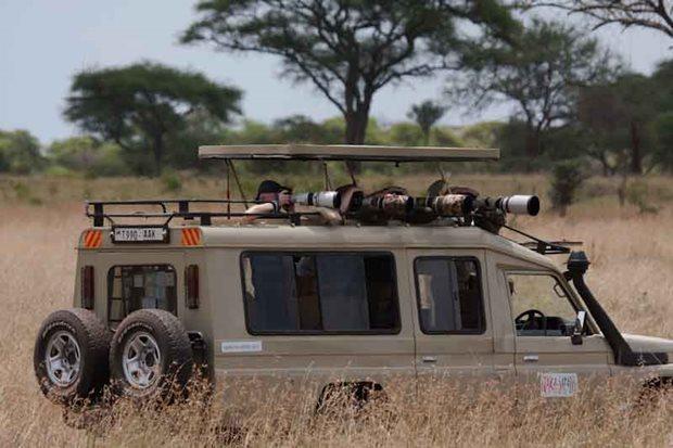 Kit viajero en Tanzania