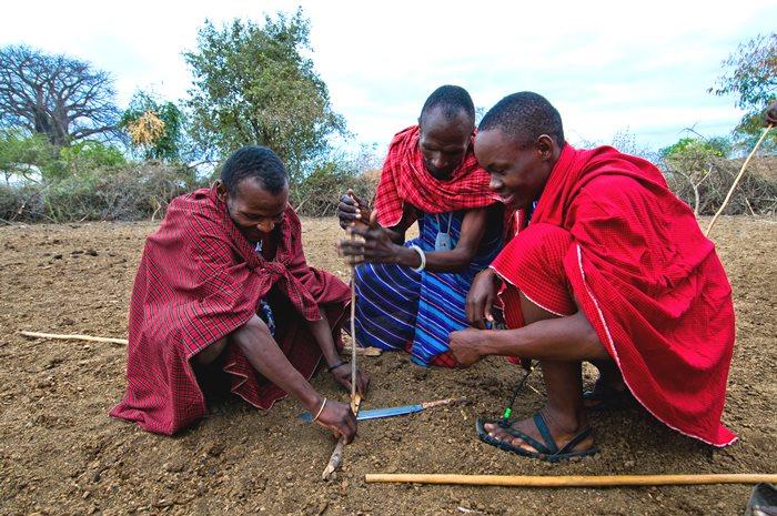 Masai en Tanzania